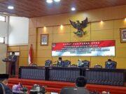Rapat Paripurna DPRD Kota Blitar