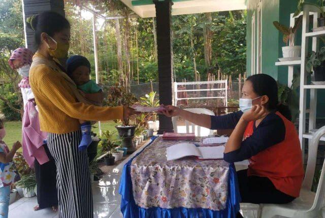 Pelayanan Posyandu Mawar, yang bertempat di Dusun Lungurkulon