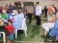 Target Vaksinasi di Batam