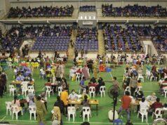 Vaksinasi di Stadion Temenggung Abdul Jamal