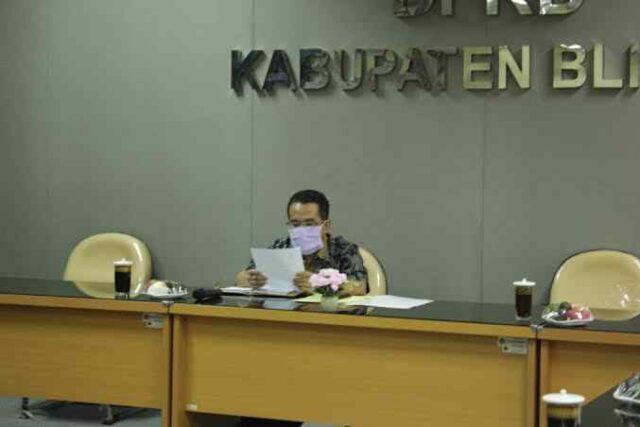 DPRD Kabupaten Blitar Medi Wibawa