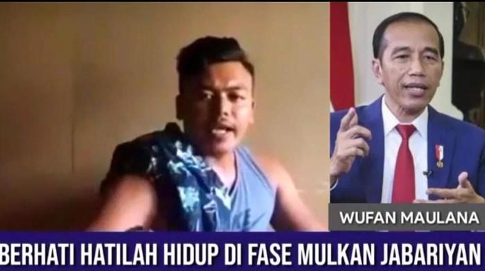 Video Viral Maki Jokowi