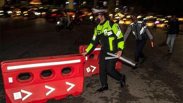 Titik Masuk Jakarta Ditutup