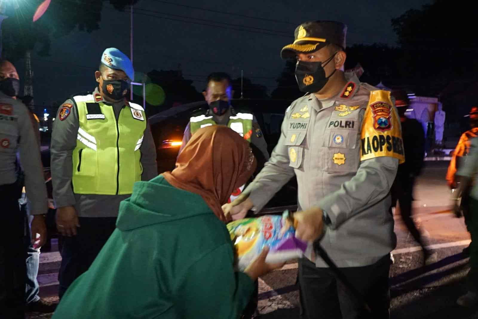 Polres Blitar Kota Patroli Skala Besar