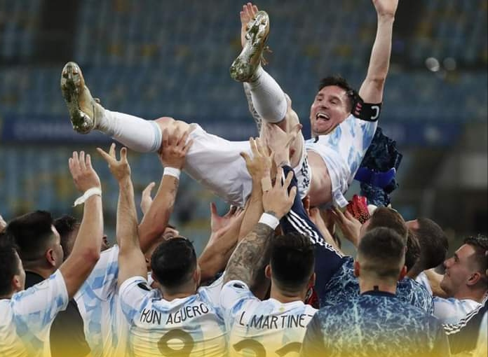 Argentina Juara Copa America 2021