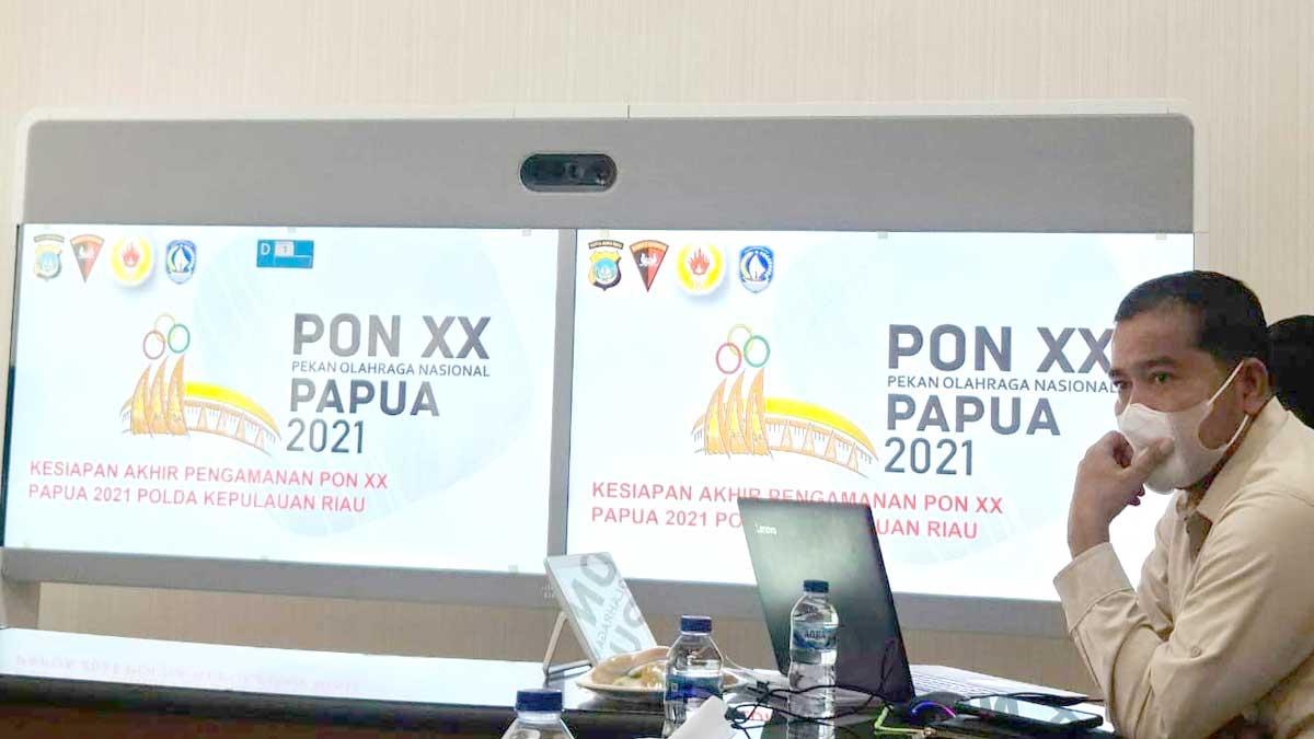 KONI Kepri Rapat Finalisasi jelang PON XX Papua