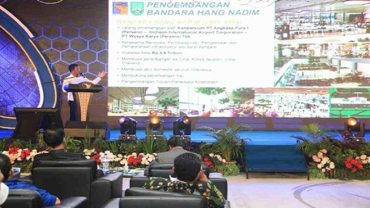 Kepala BP Batam memaparkan prioritas pembangunan di Batam