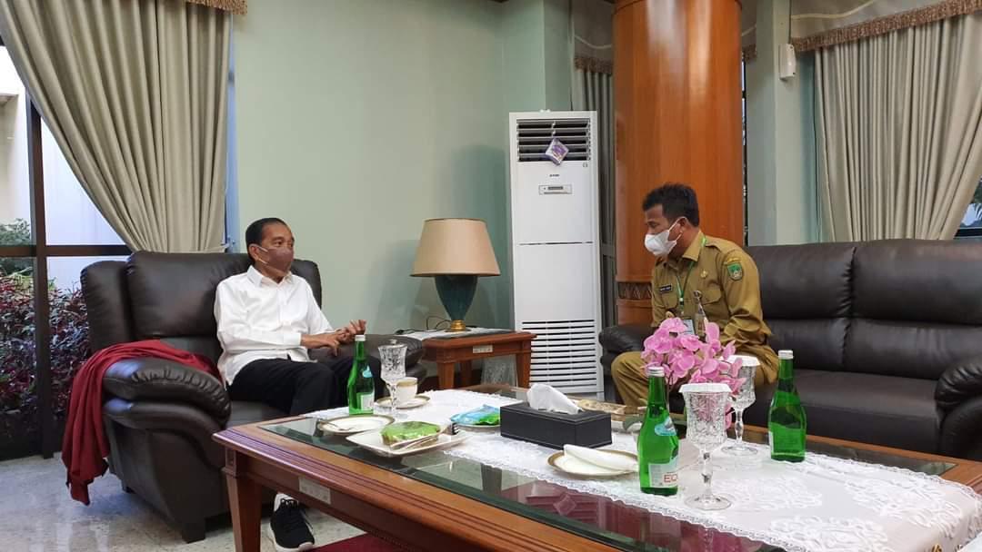 Presiden Jokowi Puji Rudi