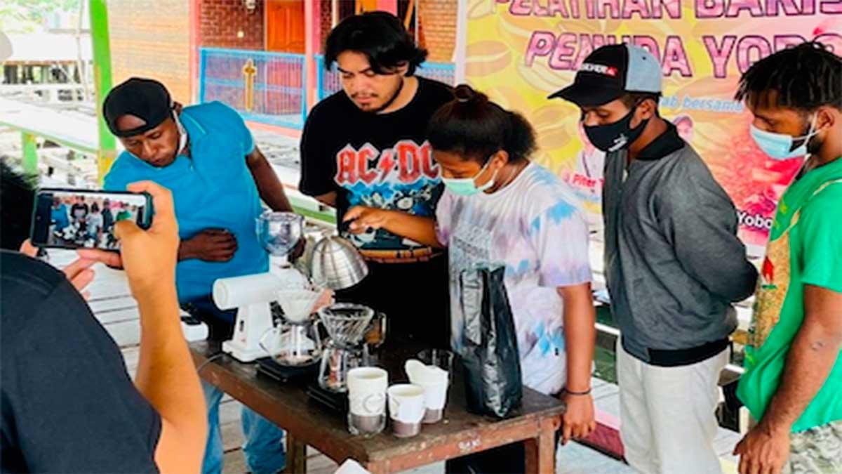 kontribusi anak muda papua